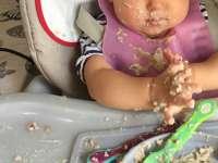 Miért hagyjuk a babákat maszatolni és ' játszani' az étellel! - Babakorban nem kell szépen enni!