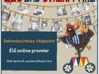 Online lakásszínház az Élő-báb-stream házzal