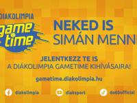 Startol a Diákolimpia GameTime – A félbeszakadt Diákolimpia® szezonban online játékot indít az MDSZ