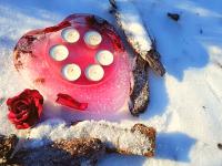 Alkoss a faggyal: jégtorta, jégszívek és mécsesek...